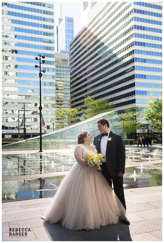 bijou bridal allure real wedding philly