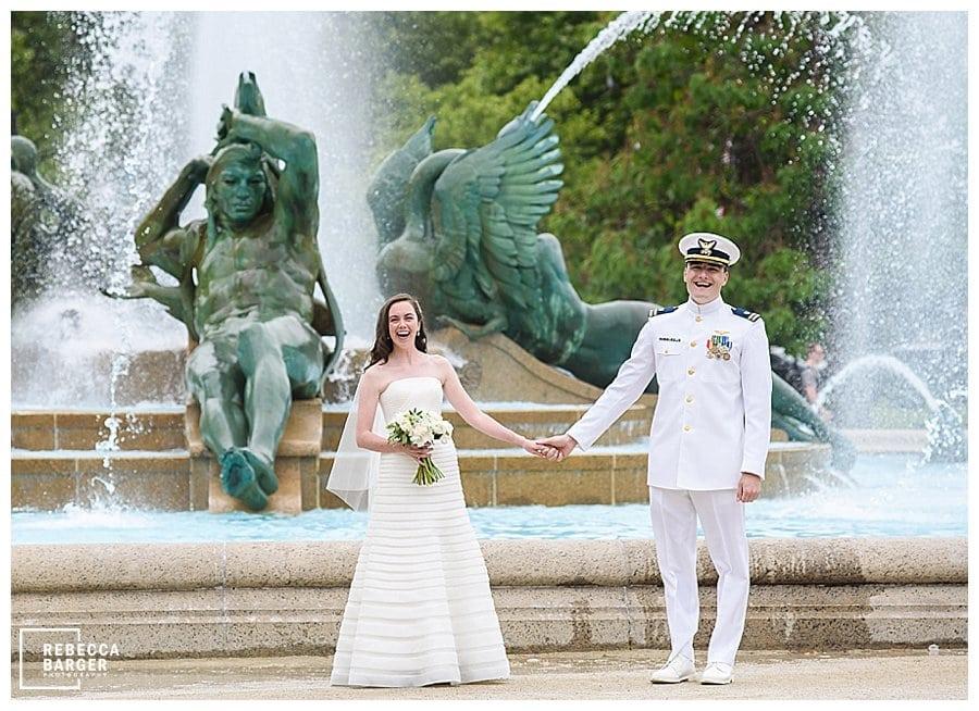 military wedding Basilica